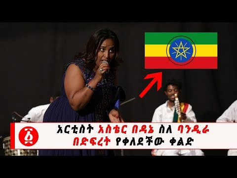 Ethiopia: አርቲስት አስቴር በዳኔ ስለ ባንዲራ በድፍረት የቀለደችው ቀልድ   Aster Bedane Mocked Ethiopian Flag Emblem