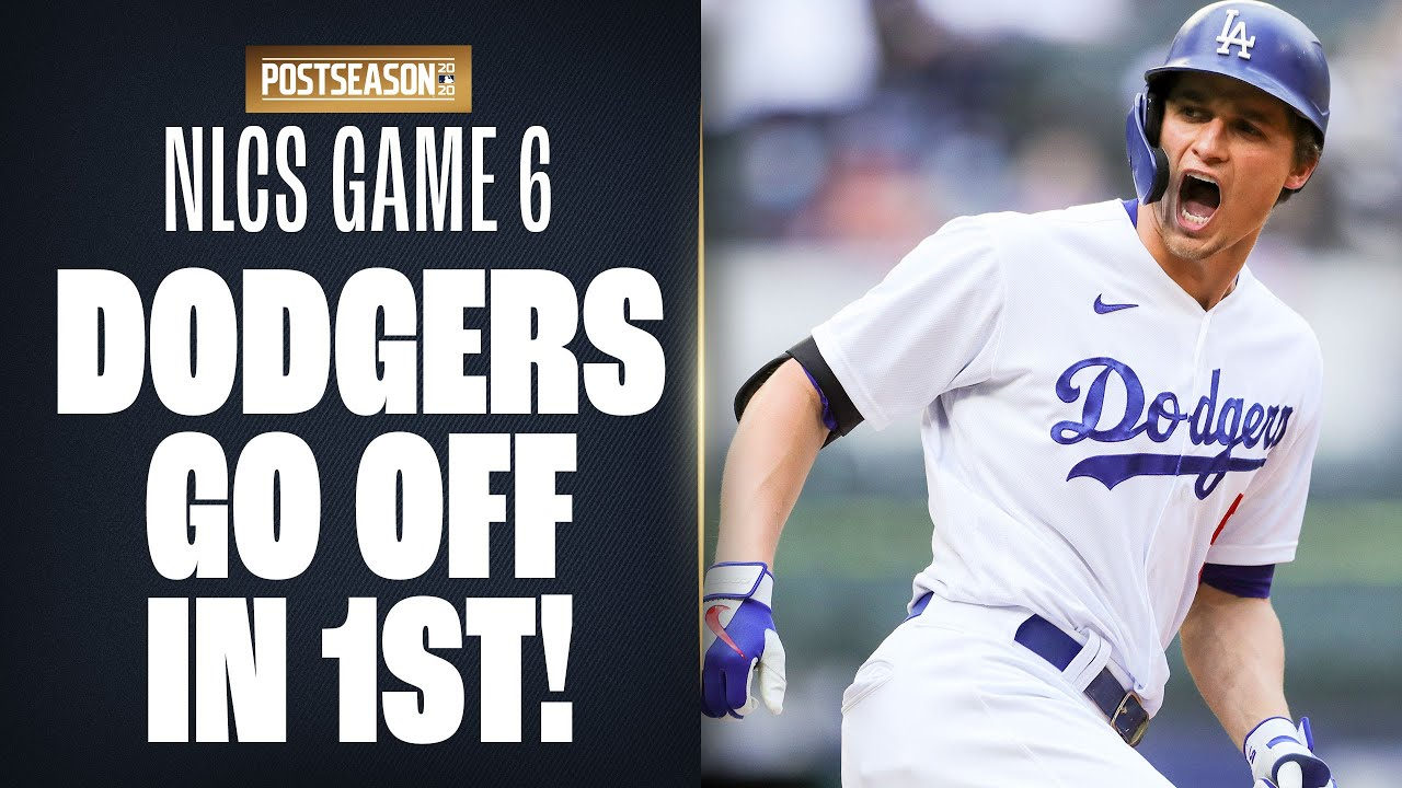 Corey Seager and Justin Turner LAUNCH homers as Dodgers put up 3 in 1st inning of NLCS Game 6!