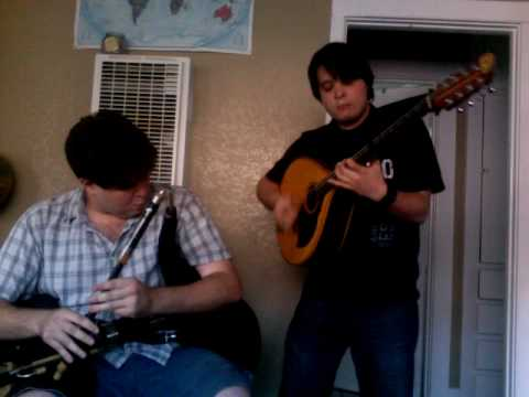 Ben Jaber and Zac Leger - pipes and bouzouki reels in San Diego