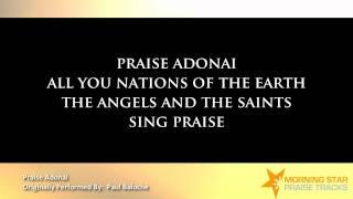 Praise Adonai- Paul Baloche (Backing Track with Lyrics).wmv