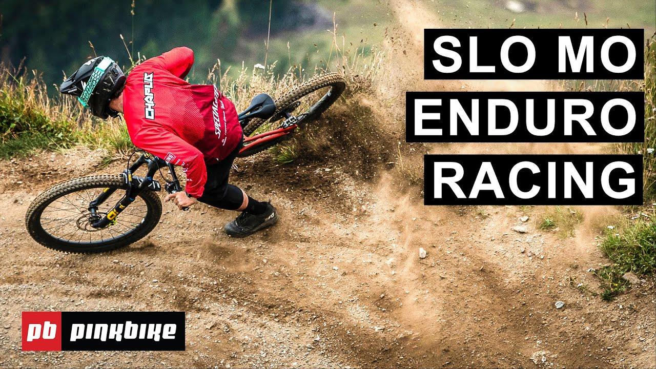 5 Minutes Of Wild Slow Mo Enduro Racing From EWS Crans-Montana