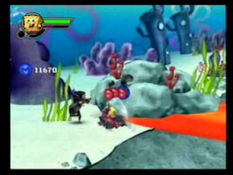 spongebob squarepants featuring nicktoons globs of doom ps2