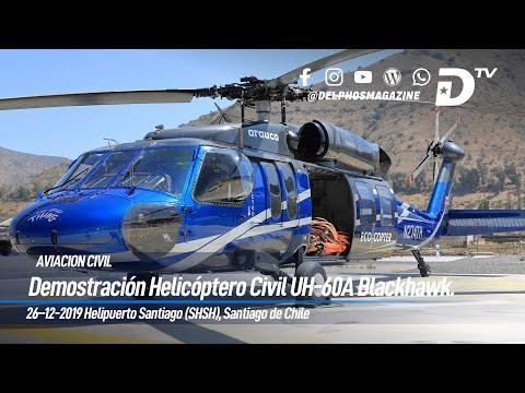 Vuelo demostrativo UH-60A Black Hawk de Timberline Helicopters