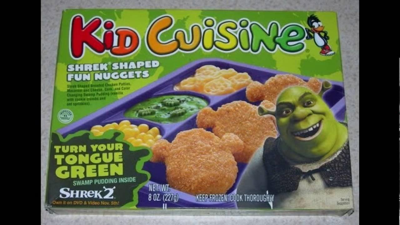 Shrek Kid Cuisines! - YouTube