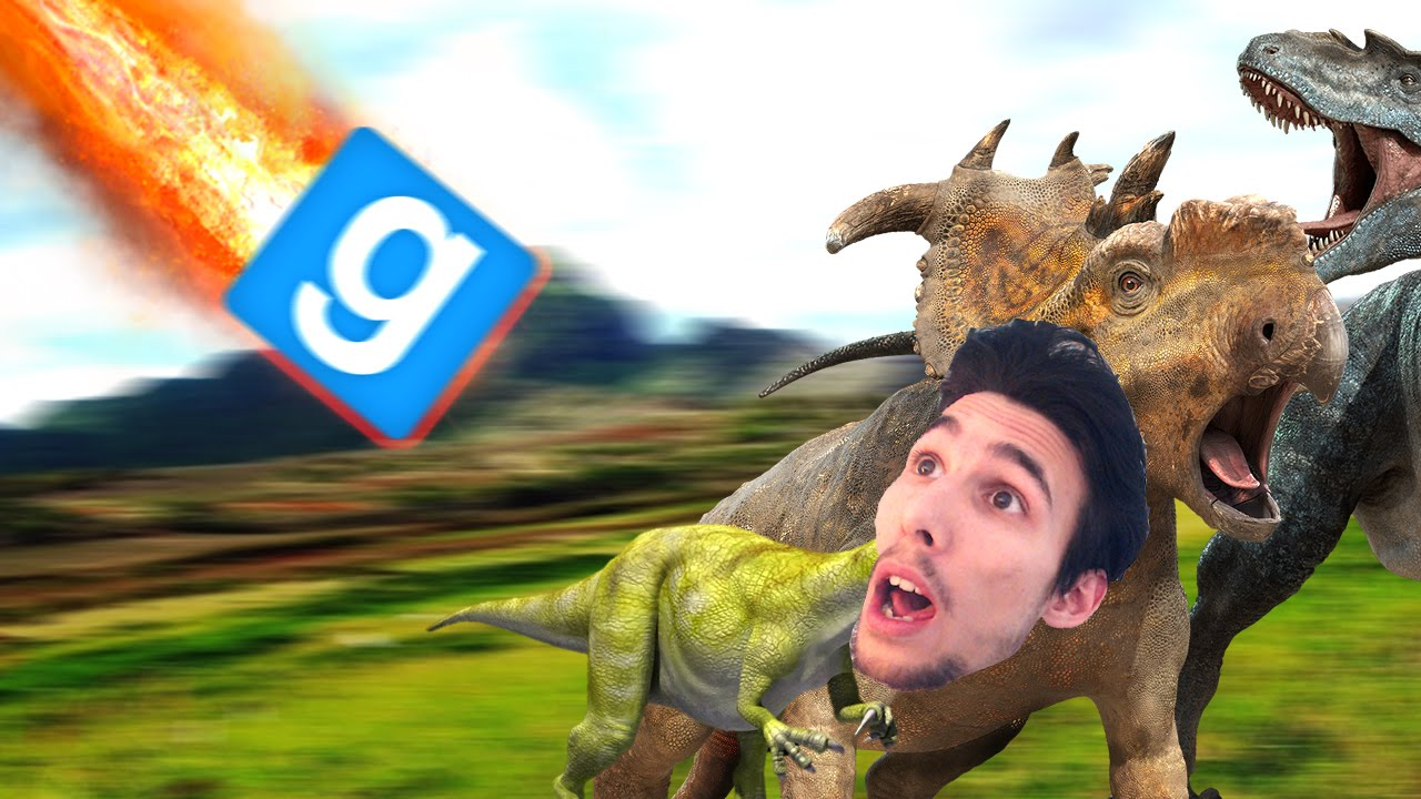 COME SI SONO ESTINTI I DINOSAURI! - Gmod Jurassic World ...