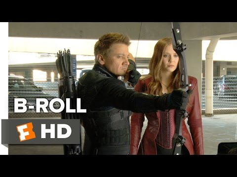 Captain America: Civil War B-ROLL 1 (2016) - Jeremy Renner, Elizabeth Olsen Movie HD