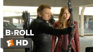 Captain America: Civil War B-ROLL 1 (2016) - Jeremy Renner, Elizabeth Olsen Movie HD