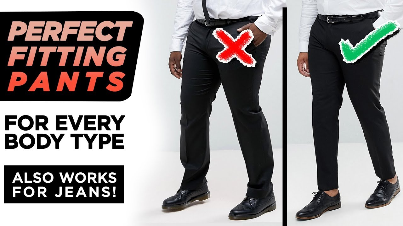 f40af191 The Secret To PERFECT Fitting Pants | Men's Denim + Trousers | StyleOnDeck