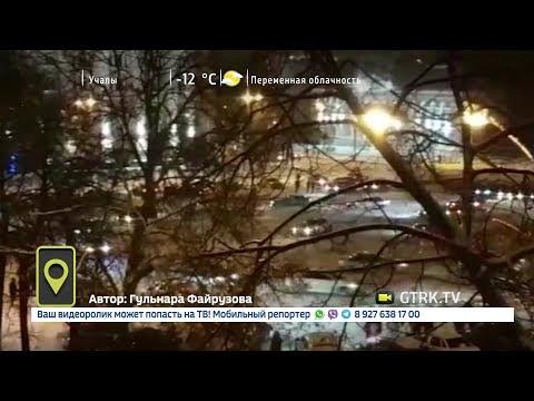 Дрифтеры устроили беспредел на Советской площади в Уфе