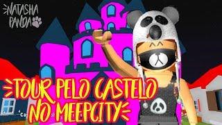MEEPCITY CASTLE TOUR + find notice on Roblox