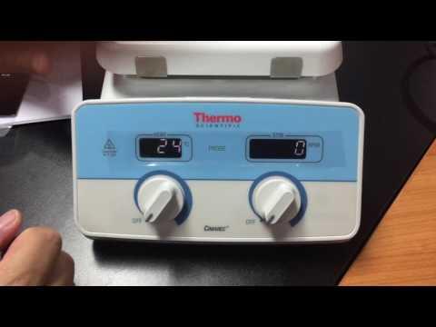 Cimarec + Stirring Hotplate Operation