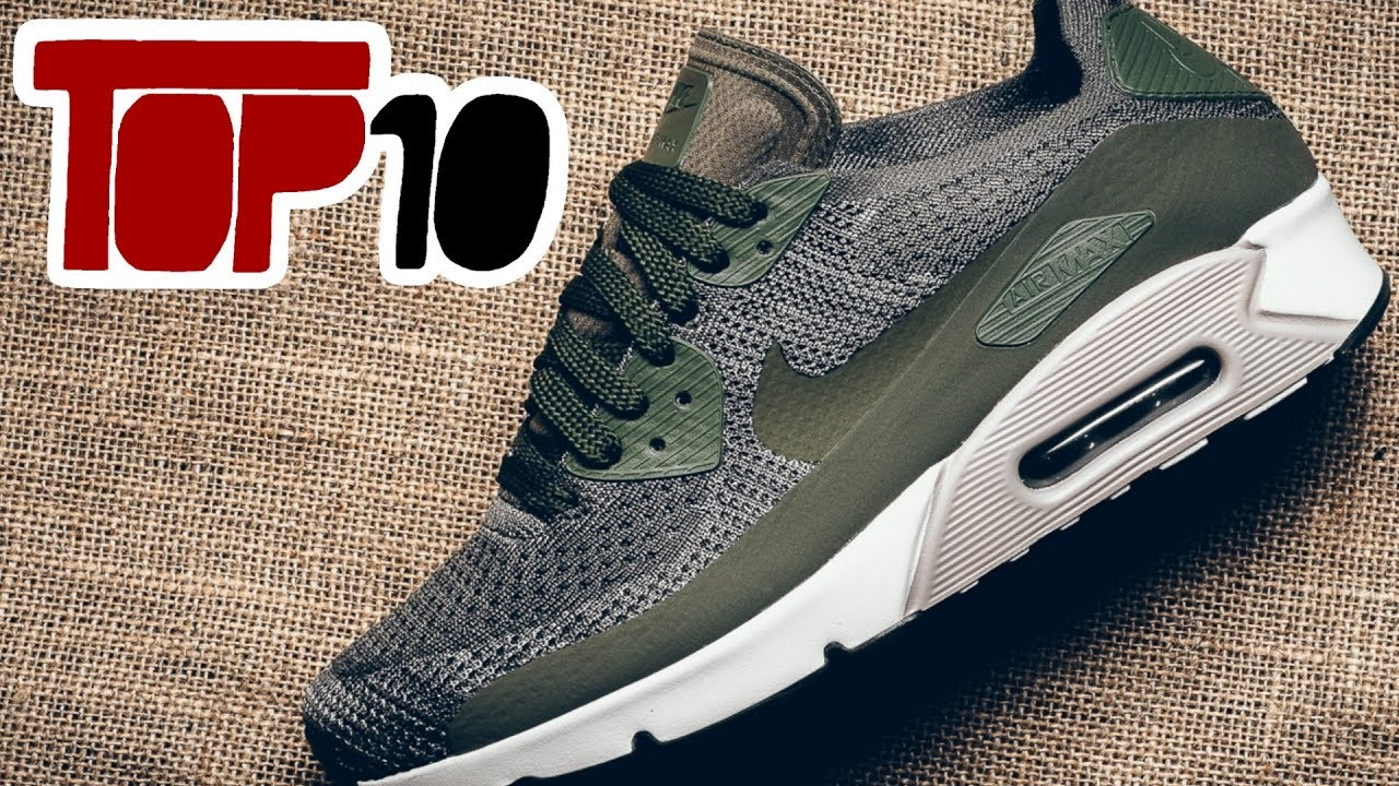 new product e2e8c 20e76 Top 10 Nike Air Max 90 Shoes Of 2017