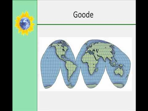Latitude, Longitude, and Types of Map Projections Part 2 - YouTube