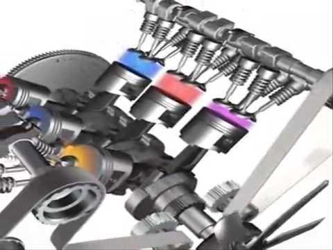 Video Motor V6 - YouTube