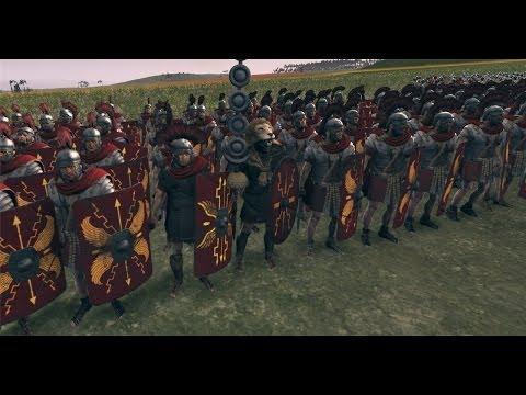 Total War: Rome 2 Преторианская гвардия VS Знатные воины