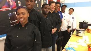 Three Dallas ISD Culinary schools compete at the First Annual Chili Cook Off