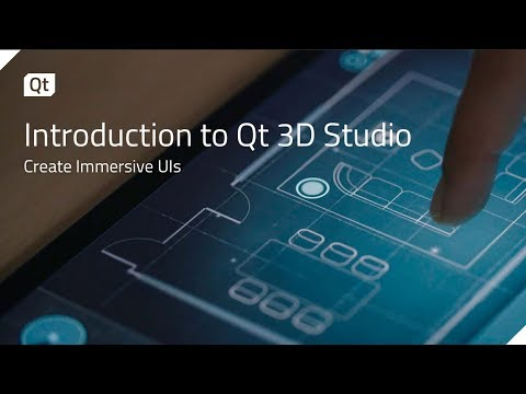 Introduction to Qt 3D Studio {on-demand webinar}