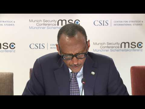Discussion on Health Security | Remarks by President Kagame | Munich, 15 February 2019