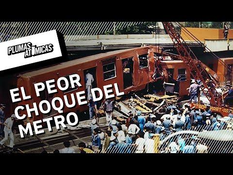 El peor choque en la historia del Metro de CDMX | El accidente del metro Viaducto