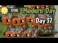 Plants Vs Zombies 2 Modern Day Day 37 Brickhead Zombie Hot Date In Last Stand Level mp3
