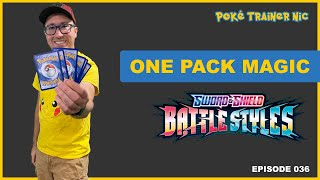 Pokémon Sword & Shield Battle Styles One Pack Magic or Not, Episode 36 #Shorts