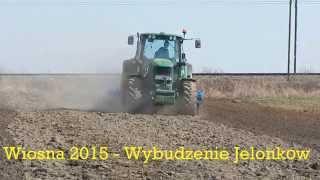 Wiosna 2015 - Wybudzenie Jelonków - RSM, Uprawa i Siew bobiku - JD6930P & JD6330 *Podkarpacie*