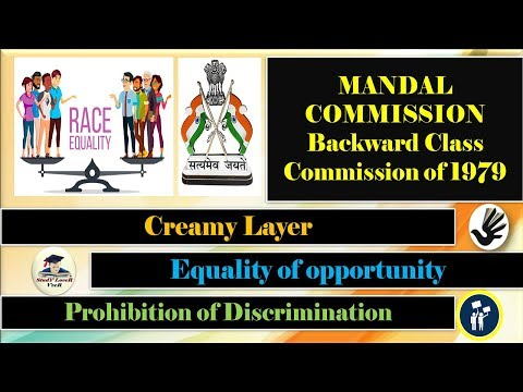 Indian polity-L-17- Creamy Layer | Mandal Commission | (Fundamental Rights) By VeeR