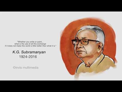 K.G Subramanyan - the Indian artist activist