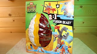 Огромные Яйцо Слайм Драконы 2 в 1 Mega Construx Breakout Beasts