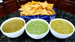 How to make The BEST Salsa Verde Recipe  Boiled, Fresh or Roasted Salsa
