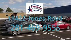 Cypress Auto Sales, Houston Texas