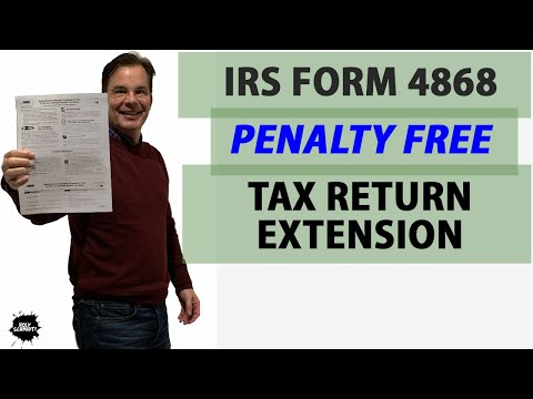 How To File Form 4868, IRS Individual Tax Return Extension Of Filing Date