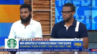 The men arrested at Starbucks speak out in first interview