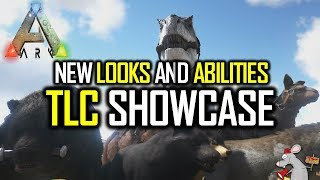 ARK SURVIVAL EVOLVED NEW DINO LOOKS AND ABILITIES TLC SHOWCASE #1