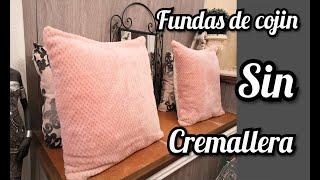 Diy/fundas De Cojin Sin Cremallera/ FÁciles De Hacer