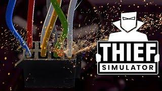 KRADZIEŻ SAMOCHODU, ODPALAM NA KABLE! - Thief Simulator #5