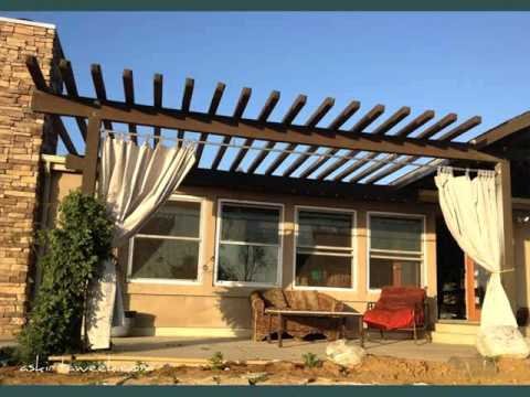 - Pergola Curtains Pic Collection Pergola Curtains - YouTube