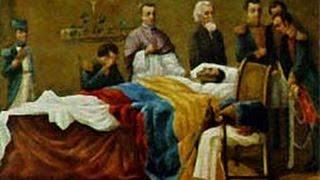 La muerte de Simón Bolívar