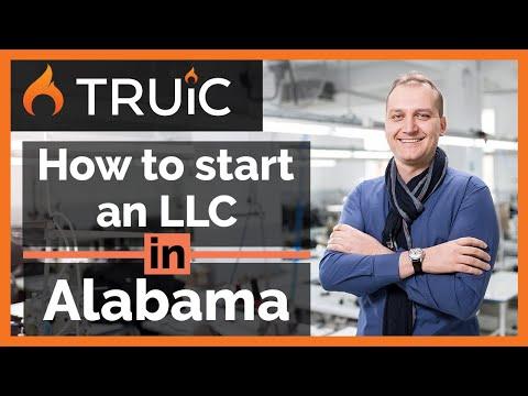 Alabama LLC - How To Start An LLC In Alabama - Short Version