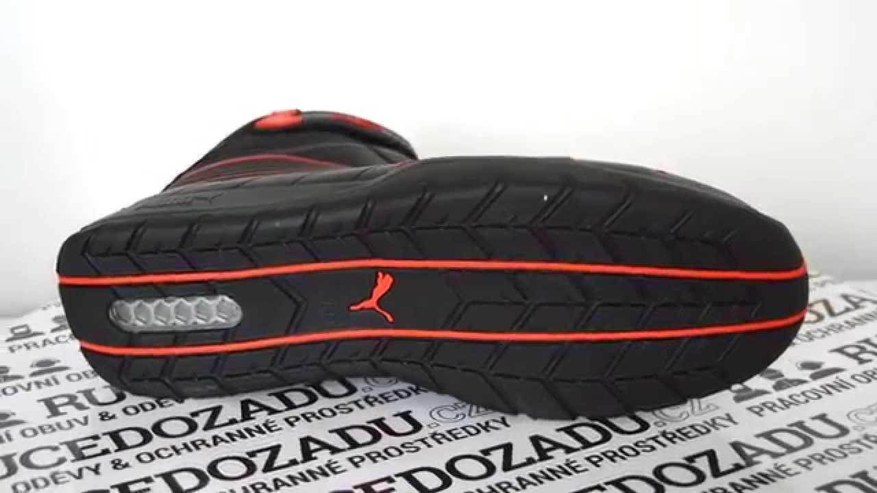 Pracovní obuv Puma Daytona S3 - podrážka    RUCEDOZADU.cz - YouTube 9f1d2eff9