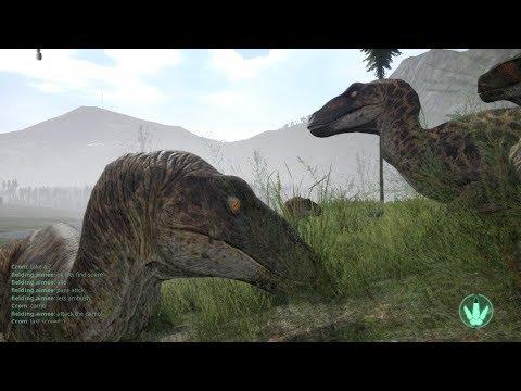 The Isle - Utah Pack Vs Para - realism gameplay