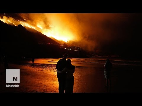 Hundreds forced to evacuate their homes in the South African city of Cape Town | Mashable