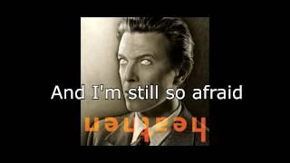 Afraid | David Bowie + Lyrics