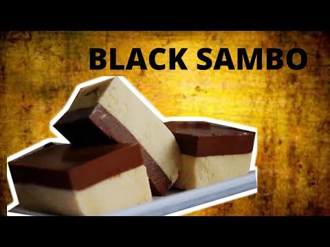 PAANO GUMAWA  NG BLACK SAMBO DESSERT?/Black Sambo Recipe   Layered Jelly Recipe