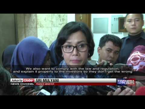 Sri Mulyani: Freeport Must Comply With Mining Law