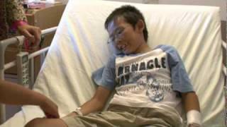 【動画祭2010】小児病棟へ笑顔を贈る「ホッとアートプレゼント」 thumbnail