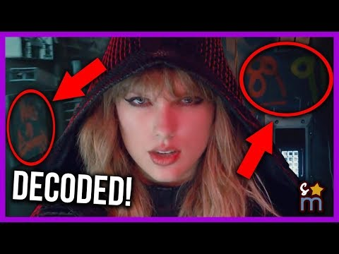 Taylor Swift …Ready For It? Music  Decoded  Hidden Messages & Meaning