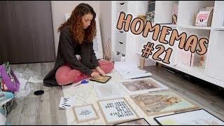 Készül a galéria fal - HOMEMAS #21 | Viszkok Fruzsi