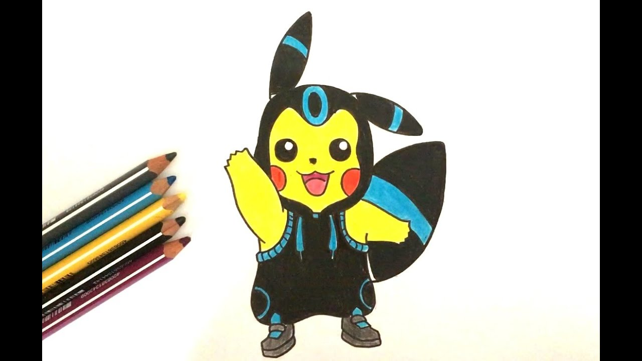 how to draw so cute pokemon