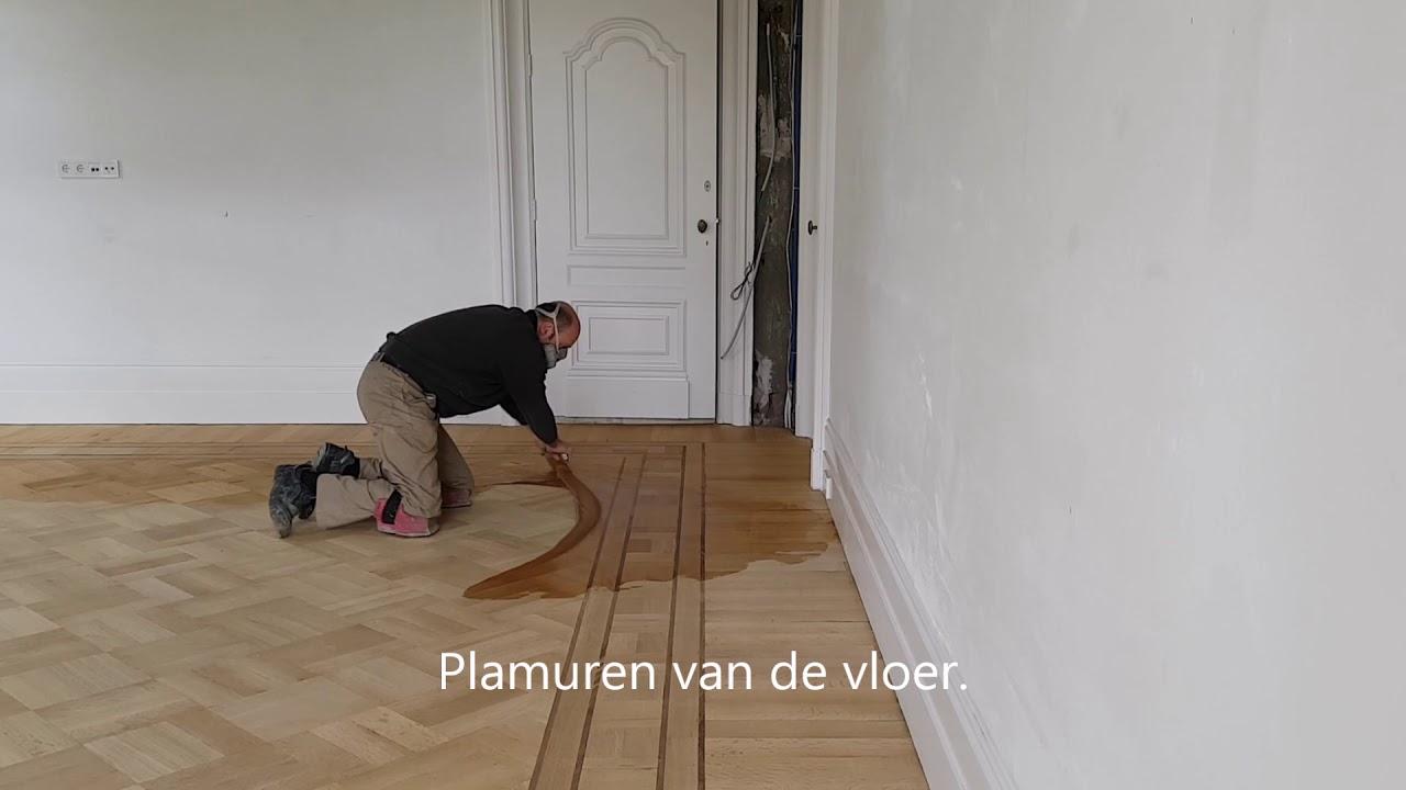 Restauratie oude houten monumentale patroonvloer in enschede youtube